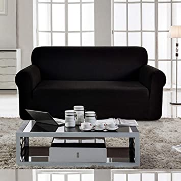 Fundas de sofá elástico con funda de funda de sofá jacquard ...