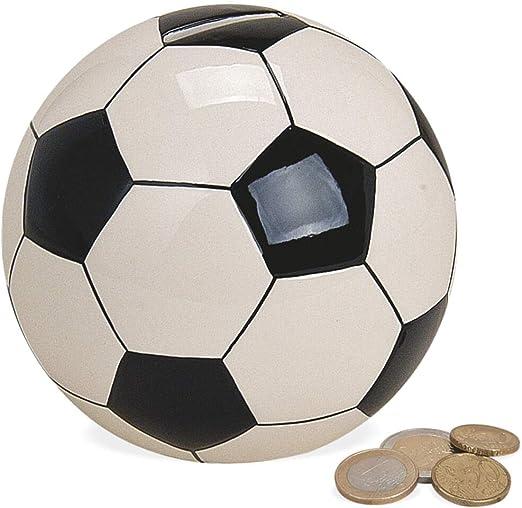 matches21 - Hucha de cerámica, diseño de balón de fútbol, Color ...