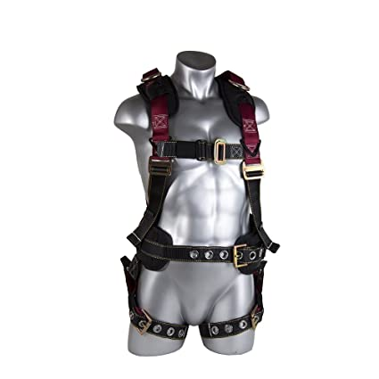 2d94ae9f3e45 Guardian Fall Protection 11170 M-L Seraph Construction Harness ...