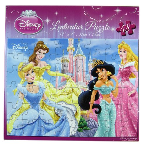 Princ (Disney Princess Lenticular Puzzle)