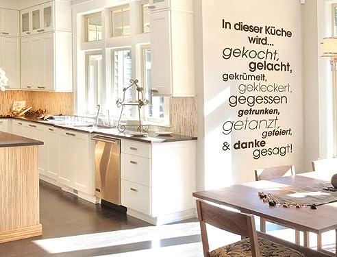 I-love-Wandtattoo 12016 Wandtattoo Küchen Spruch \