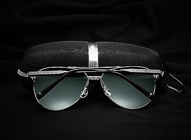 Amazon.com: siplion Hombre Aviator anteojos de sol Para Los ...