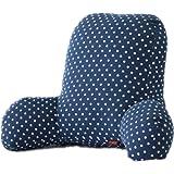 Colorfulworld® Cojín muy cómodo con función de respaldo para la cama, apoyo para la espalda y la zona lumbar en forma de T, de algodón A-02