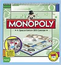 Monopoly 2011 Calendar: Amazon.es: MeadWestVaco Corporation: Libros en idiomas extranjeros