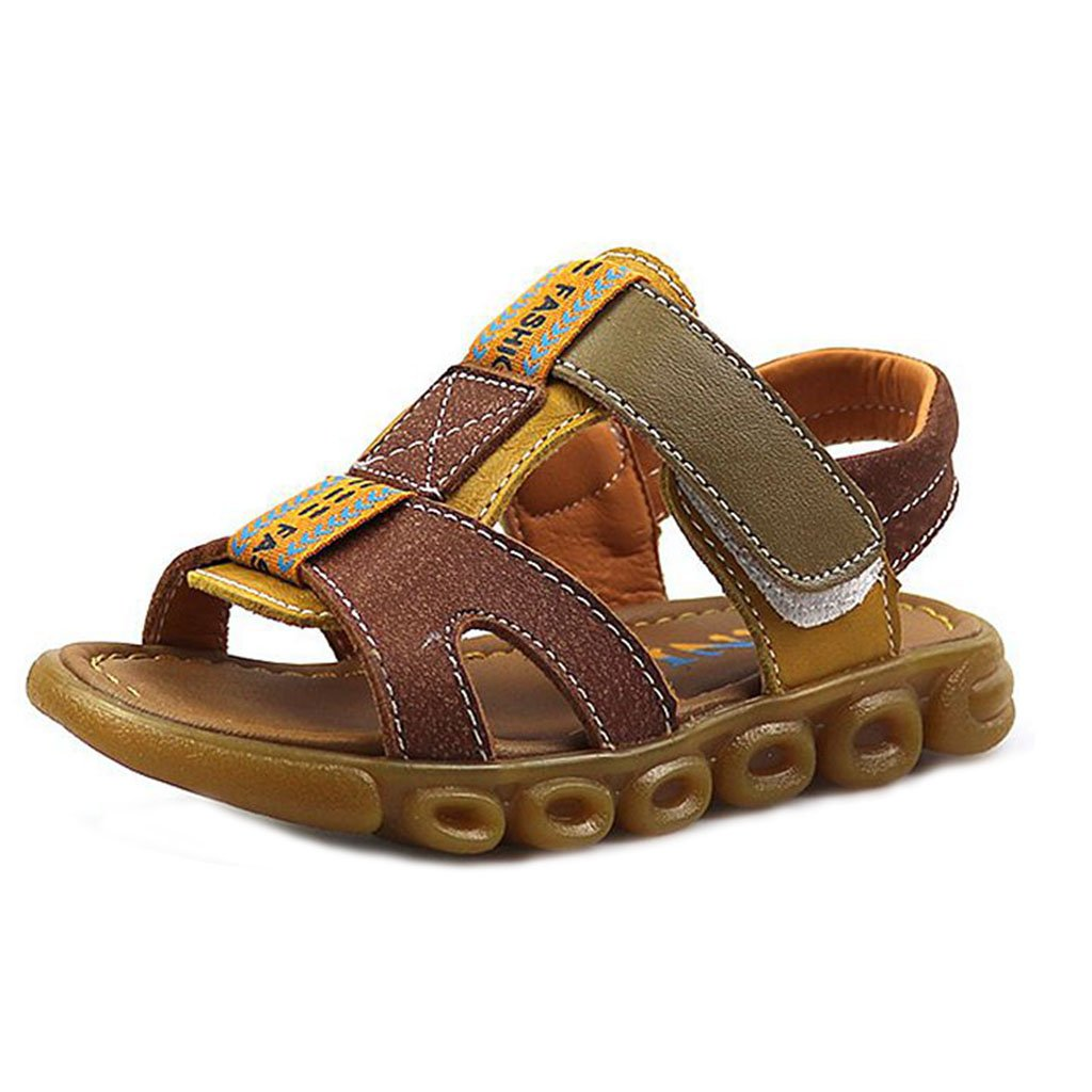 Boy's and Girl's River Sandal Breathable Summer Open-Toe Athletic Beach Walking Shoess(Toddler/Little Kid)