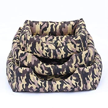 Vivian Inc Sofas & Chairs - Dog Bed Soft Dog House Design Camouflage Soft Comfortable for