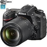 Nikon D7200 24.2 MP DX-format Digital SLR Camera with 18-140mm VR Lens (Black)(Certified Refurbished) Overview Review Image