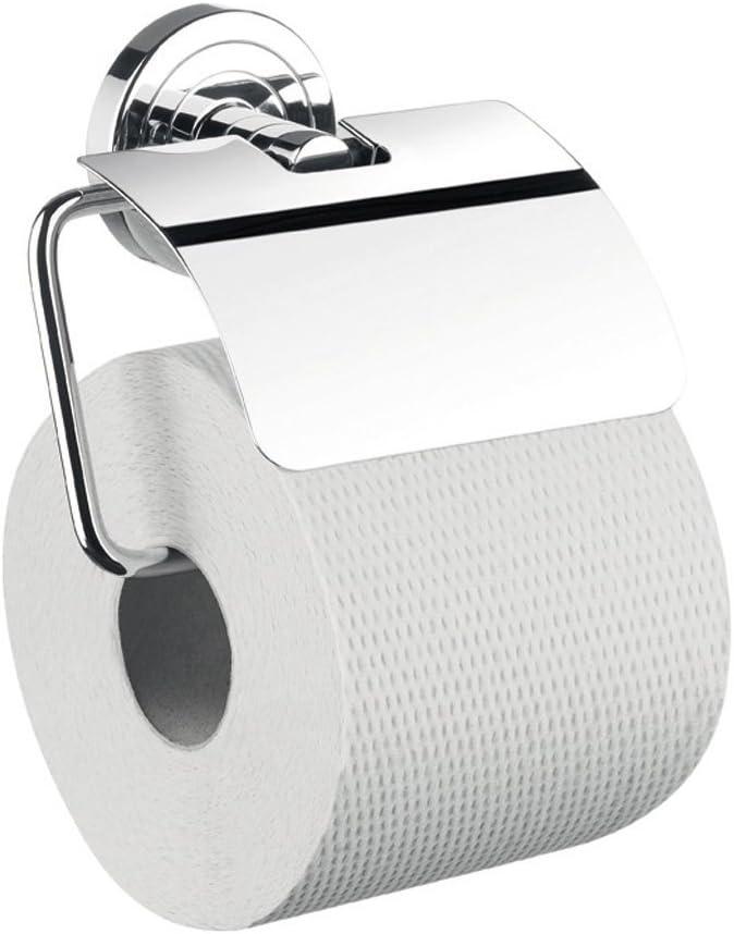 Emco Papierhalter Polo mit Deckel verchromt