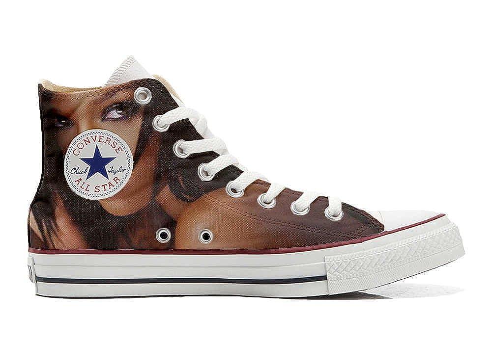 Converse All Star personalisierte Schuhe (Handwerk Produkt) Woman woow