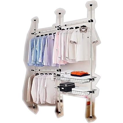 goldcart® Telescópica para armario organizador, barra para ...