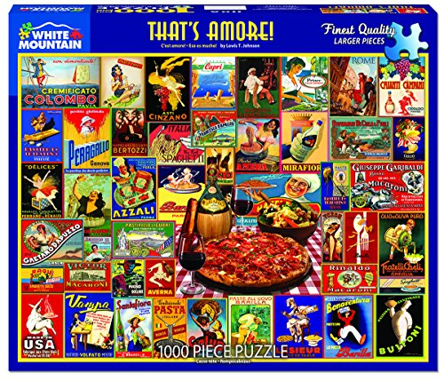 White Mountain Puzzles That's Amore - 1000 Piece Jigsaw Puzzle
