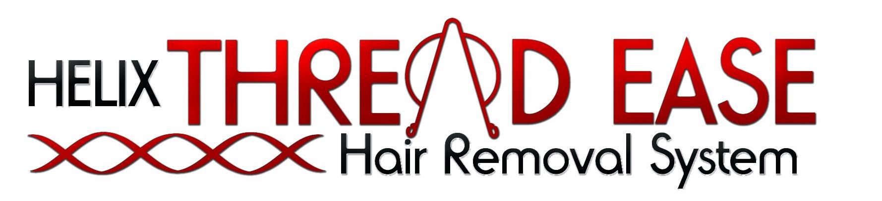 Helix Threadease Hair Removal Threading Kit Black