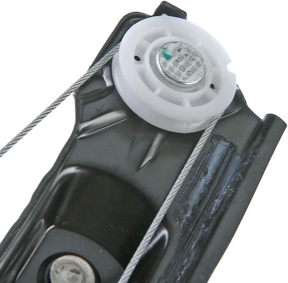 Electric Window Regulator Without Motor Rear Left for 1 E81 E87 Hatchback E88 Cabriolet E82 Coupe 2003//03-2013//12