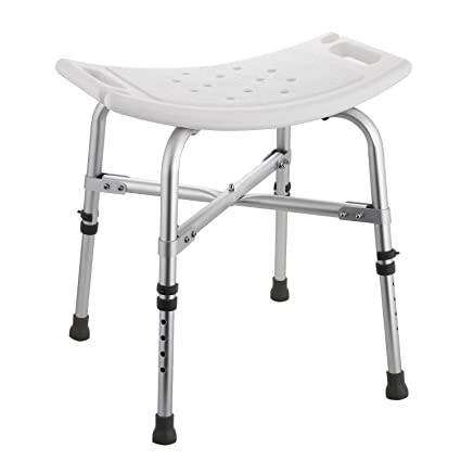 Awesome Anfan Medical Shower Chair With Non Slip Bathtub Shower Bench Seat For Seniors Elderly Disabled Handicap Bariatric Tool Free Assembly Inzonedesignstudio Interior Chair Design Inzonedesignstudiocom