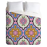 Deny Designs Pimlada Phuapradit Mirror Tiles Duvet Cover, King