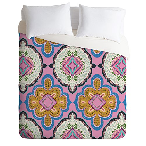 Deny Designs Pimlada Phuapradit Mirror Tiles Duvet Cover, King by Deny Designs