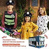 Police Costume for Kids Police Role Play Kit with