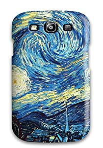 Tpu Fashionable Design Vincent Van Gogh Starry Night Rugged Case Cover For Galaxy S3 New