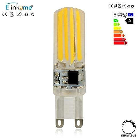 ELINKUME G9 LED Lampen 1 Pack, Warmweiss, 5W Als Ersatz Für 50W Halogen  Lampen