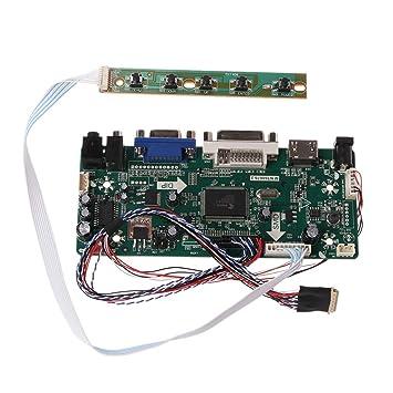 Jiamins Tarjeta controladora LCD HDMI DVI VGA Audio Módulo ...