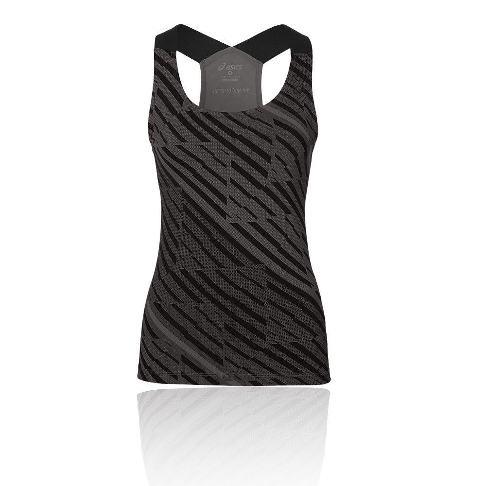 Asics Focus GPX Tank Camiseta de Tirantes, Mujer, Negro (Performance Black), M