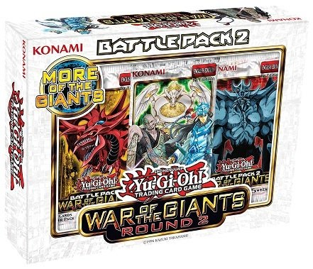 - Konami Yu Gi Oh! War of The Giants Round 2 Battle Pack 2