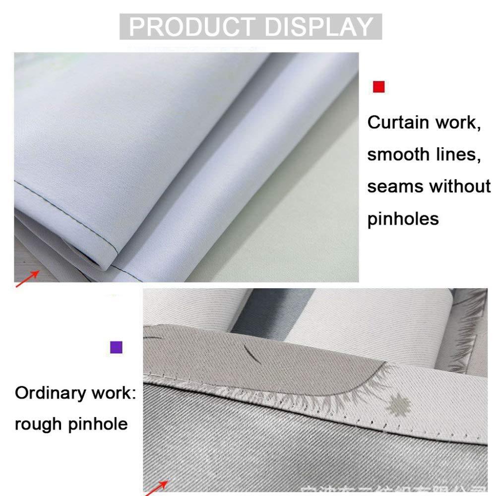 SHASHA Vorhänge 3D 3D 3D 2 Panel Eyelet Ring Top Anti-UV Thermal schwarzout Print Persönlichkeit Vorhänge, Einschließlich Haken Und Premium Roman Ringe - Panda,W320cmH270cm B07HD6YNXL Vorhnge 0fca53