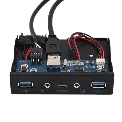 E-SDS Panel frontal con 2 puertos USB 3.0 y 2 puertos USB tipo