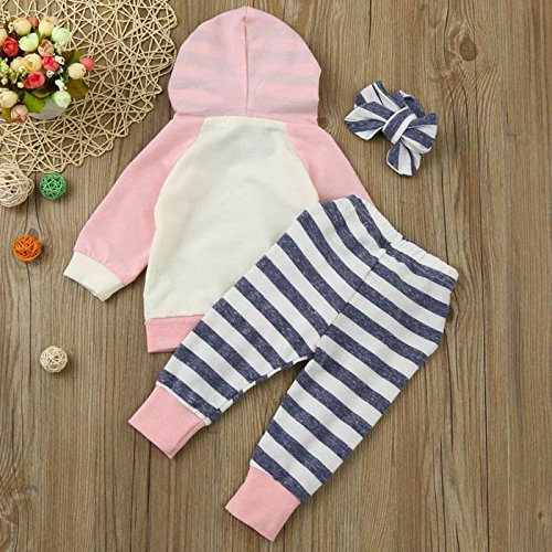 325ae040f Cecobora Infant Baby Boys Girls Clothes Long Sleeve Hoodie Tops ...