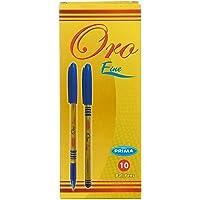 Prima Ora Ballpoint Pen Set, 10 Pieces - Blue