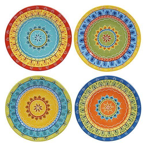 Certified International Valencia Dessert Plates (Set of 4), 8.75