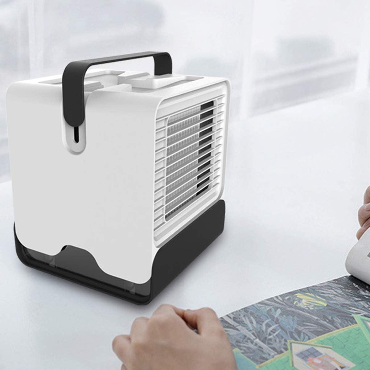 HelloCreate Enfriador de Aire Personal USB Aire Acondicionado ...