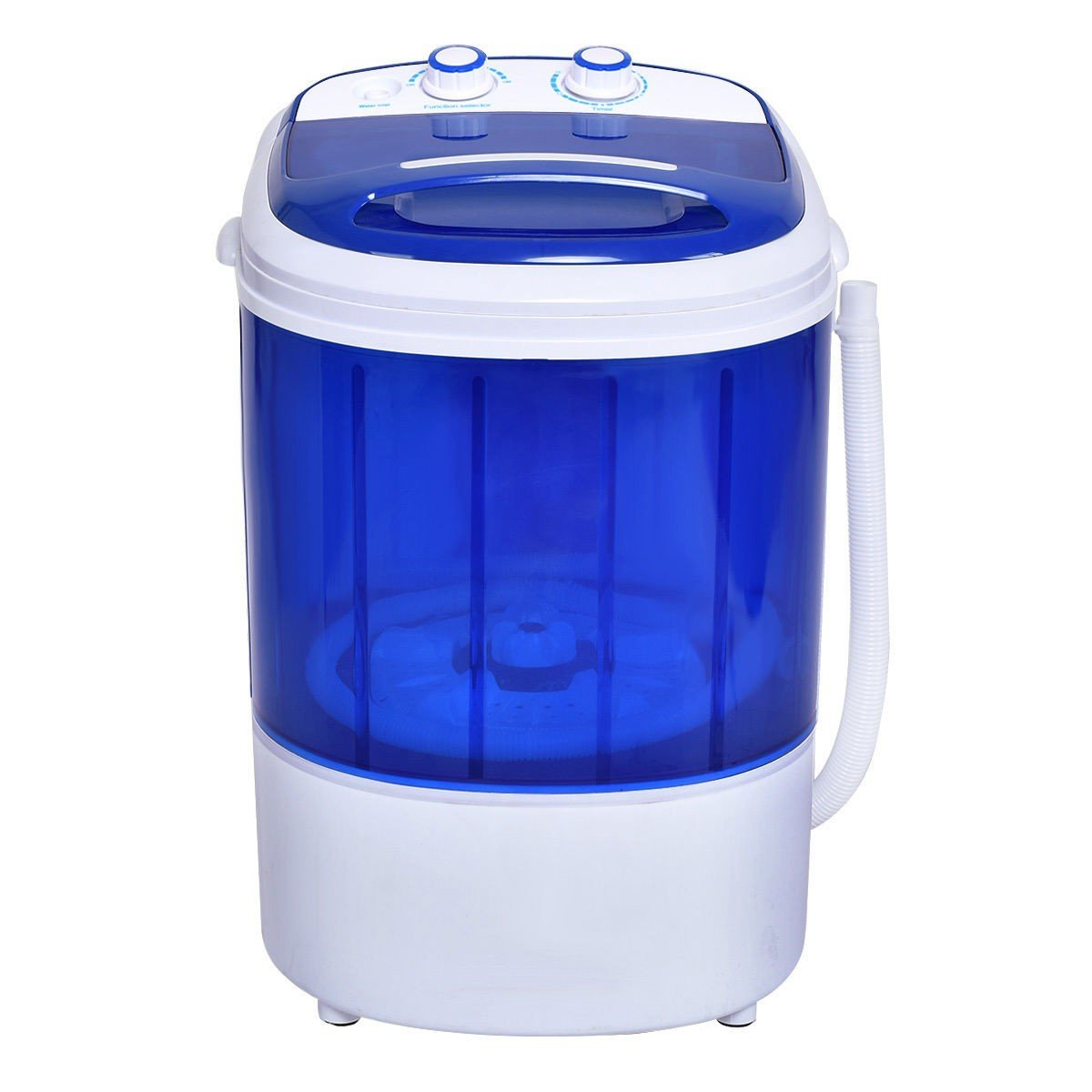 Mini Portable Small Washing Machine Laundry Clothes Washer Spin Dryer Unit Set Apontus