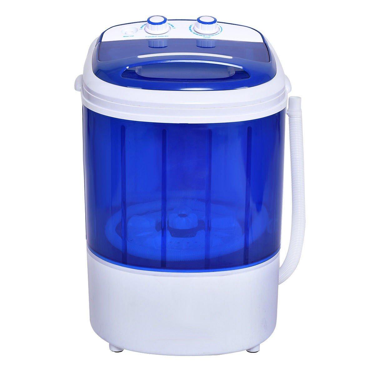 Mini Portable Small Washing Machine Laundry Clothes Washer Spin Dryer Unit Set