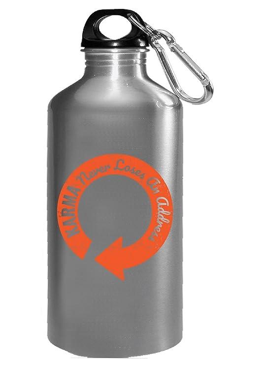 Karma nunca pierde una dirección filosofía Zen - Botella de agua ...