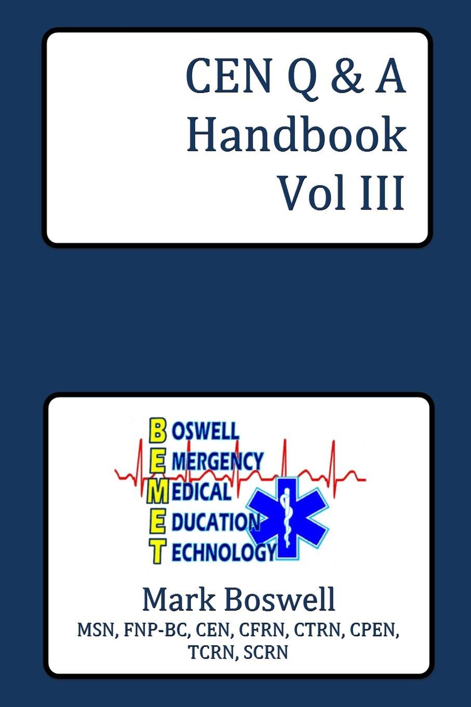 CEN Q&A Handbook Vol III (Volume 3) pdf