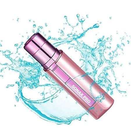 LLFFDC Depiladora Eléctrica para Mujer Mini Sin Cable Seca y Húmeda Afeitadora para Facial Pierna Brazo Axila Bikini: Amazon.es: Hogar