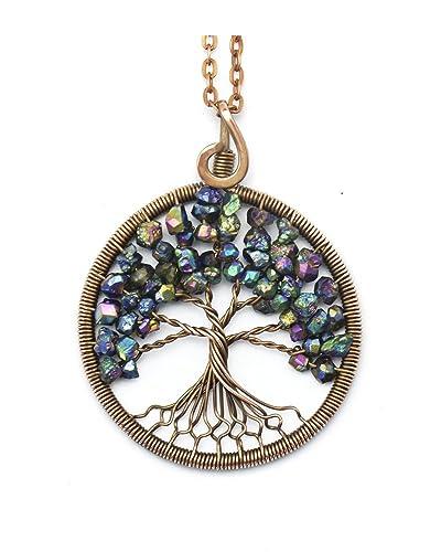 Amazon.com: Tree-of-Life Pendant • Wire tree-of-life • Tree of Life ...