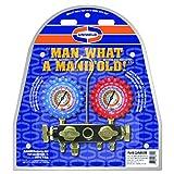 Uniweld Q4N85SM 4-Valve Aluminum Manifold with