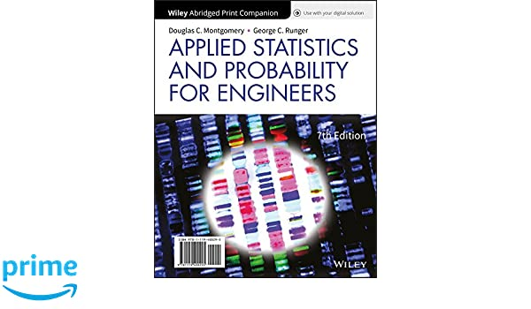 Applied Statistics And Probability For Engineers 3rd Edition Pdf