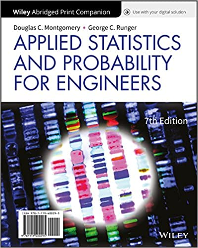 Applied Statistics And Probability For Engineers 7th