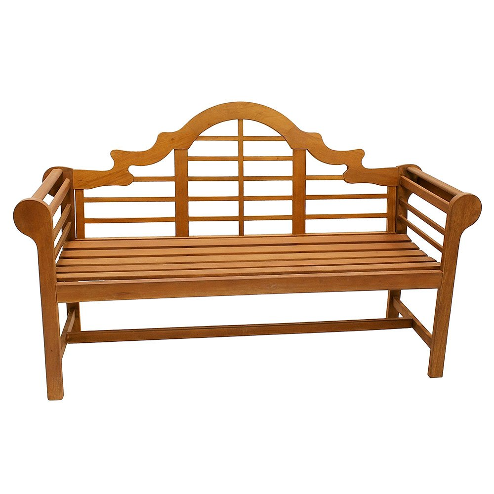 Amazon Com Achla Designs Ofb 02 Lutyens Indoor Outdoor Wood Bench