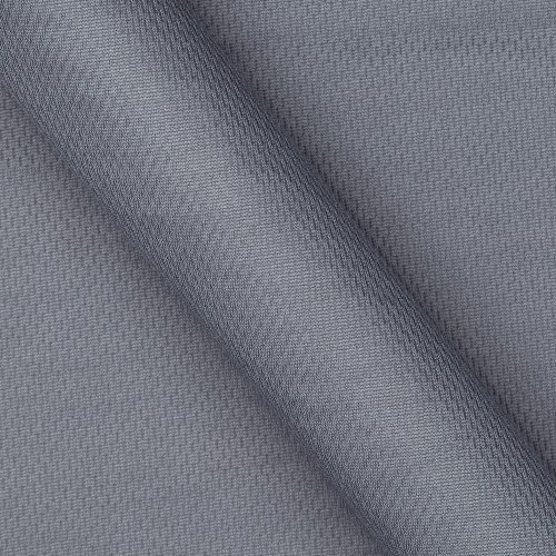 (Textile Creations Athletic Mesh Knit Grey Fabric, Charcoal, Fabric by the yard)