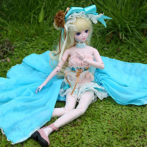 Isabella BJD Dolls 1/4 SD Doll 45cm 18'' Jointed Dolls Toy Gift for Girl by EVA BJD (Image #4)