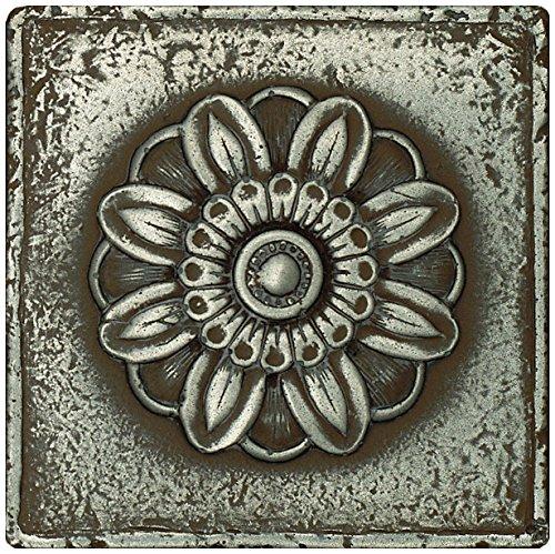 (Dal-Tile 44DECO1P-MS10 Metal Signatures Tile, 4.25