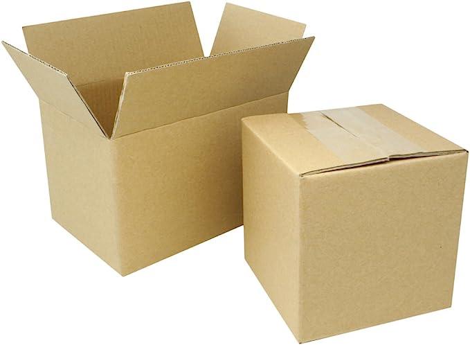 """50 Postal Storage Cardboard Boxes 13.5 x 4 x 4/"""" S//W"""