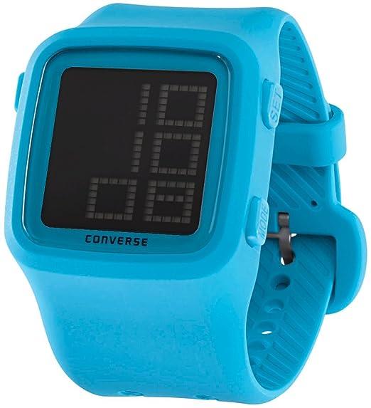 Converse VR002-460 - Reloj con correa de caucho para hombre, color azul/gris: Amazon.es: Relojes