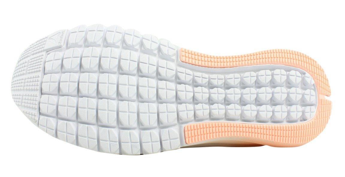 Reebok Women's Print Smooth Clip Ultk Track Shoe, Cloud Grey/White/Peach Twist/Pewter, 7 M US