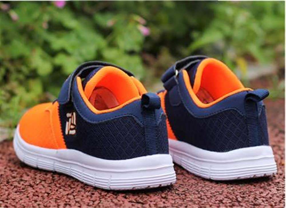 Sunny Day Boys Girls Lightweight Breathable Sneakers Strap Athletic Running Shoes