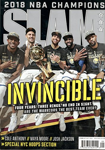 Slam Magazine (September/October, 2018) Invincible: 2018 NBA Champions Golden State Warriors